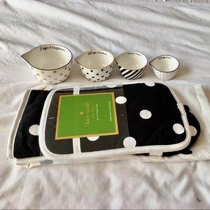 Kate Spade 3pc Kitchen Set w/ Measuring Cups*
